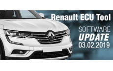 Software Update for Renault ECU Tool - version 2.78d  (03.02.2019)