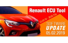 Software Update for Renault ECU Tool - version 2.79 (05.02.2019)