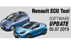 Software Update for Renault ECU Tool - version 2.88 (05.07.2019)