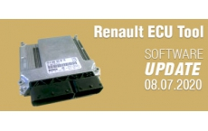 Software Update for Renault ECU Tool - version 2.97 (08.07.2020)