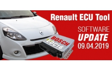 Software Update for Renault ECU Tool - version 2.84 (09.04.2019)