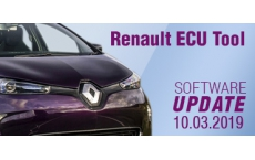 Software Update for Renault ECU Tool - version 2.81 (10.03.2019)