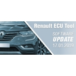 Software Update for Renault ECU Tool - version 2.78c (17.01.2019)