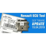 Software Update for Renault ECU Tool - version 2.85 (19.04.2019)