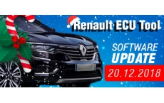 Software Update for Renault ECU Tool - version 2.78 (20.12.2018)