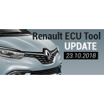 Software Update for Renault ECU Tool - version 2.71 (23.10.2018)