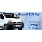 Software Update for Renault ECU Tool - version 2.80 (25.02.2019)