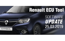 Software Update for Renault ECU Tool - version 2.83 (25.03.2019)