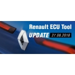 New software update for Renault ECU Tool -  version 2.69 (24.08.2018)