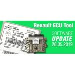 Software Update for Renault ECU Tool - version 2.87 (28.05.2019)