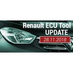Software Update for Renault ECU Tool - version 2.74 (28.11.2018)
