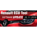 Software Update for Renault ECU Tool - version 2.75 (30.11.2018)