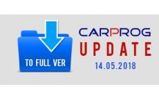 CarProg Update to FULL version - Updated 14.05.2018
