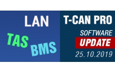 T-CAN PRO - SOFTWARE UPDATE 29.10.2020