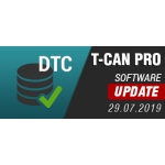 T-CAN PRO - Software Update 29.07.2019