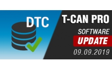 T-CAN PRO - Software Update 09.09.2019