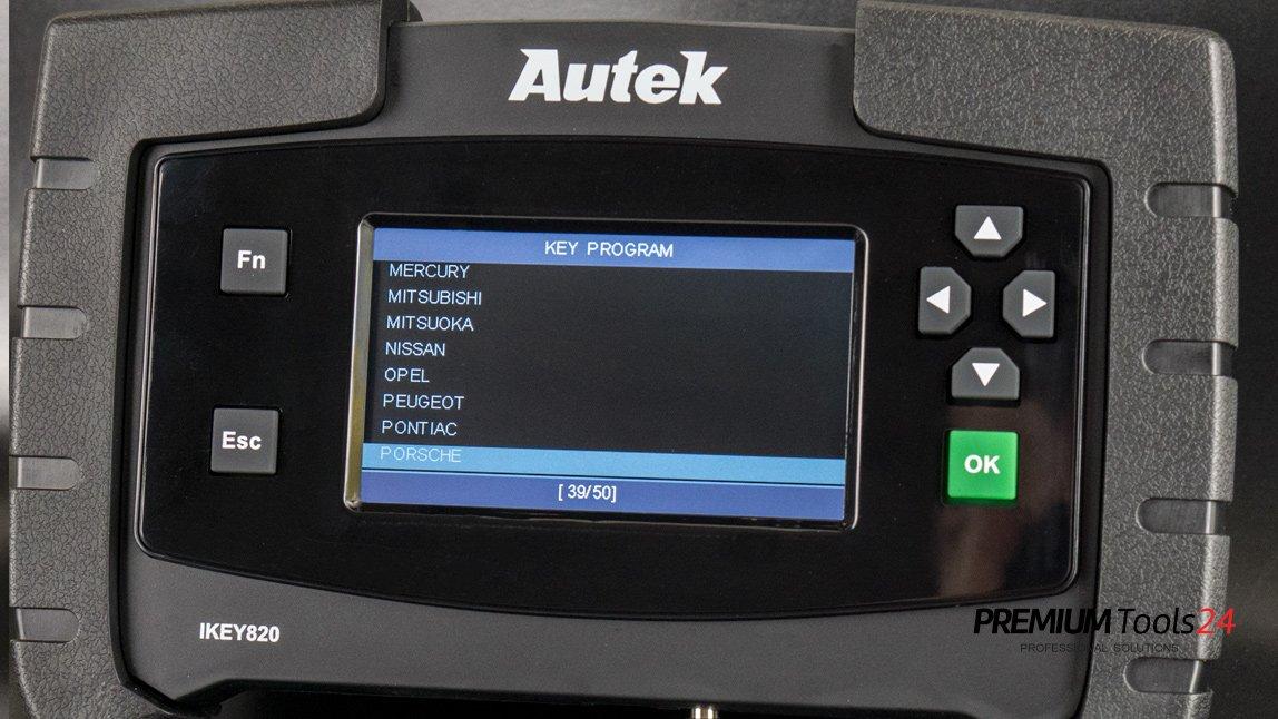 Autek IKEY820 Key Programmer