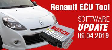 Software Update for Renault ECU Tool - version 2.84 (09.04.2019)
