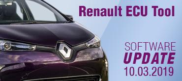 Software Update for Renault ECU Tool - version 2.81 (10.03.2019)