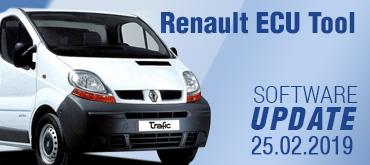 Software Update for Renault ECU Tool - version 2.80 (25.02.2019)