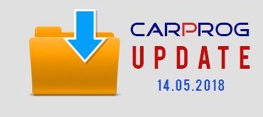CarProg Dash Update 14.05.2018