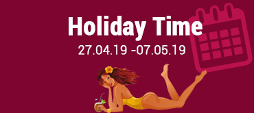 Holiday 27.04.19 - 07.05.19