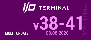 Multitool Software Update for I/O TERMINAL - version 38-41 (03.08.2020)
