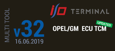 OPEL/GM TCM software has been updated on 16.06.2019