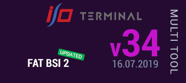 Multitool Software Update for I/O TERMINAL - version 34 (16.07.2019)