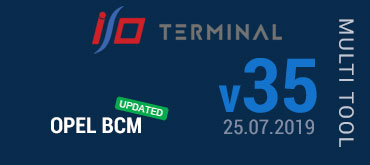 Multitool Software Update for I/O TERMINAL - version 35 (25.07.2019)
