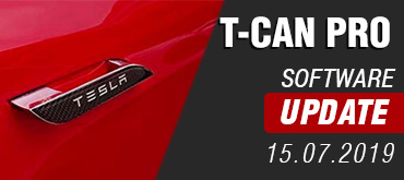 T-CAN PRO - Software Update 15.07.2019